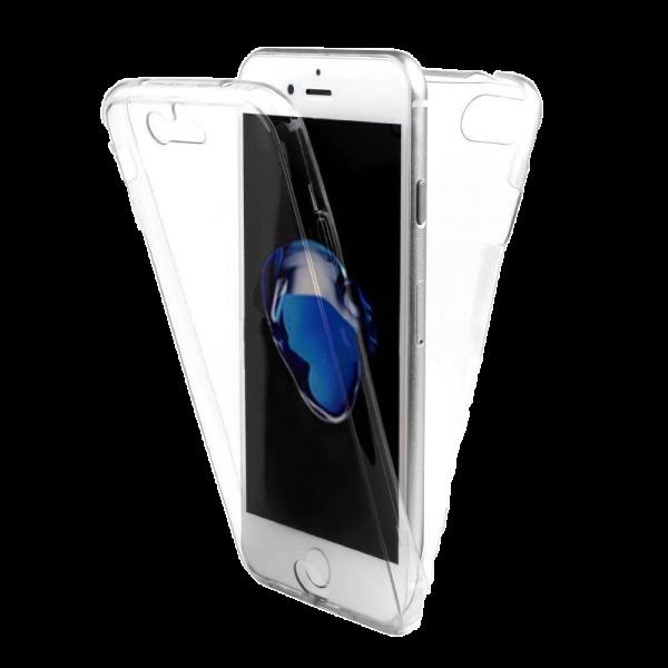 Husa iPhone 7 360 Fullcover Silicon Transparent 0