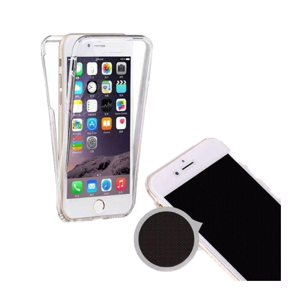 Husa iPhone 7 360 Fullcover Silicon Transparent 1