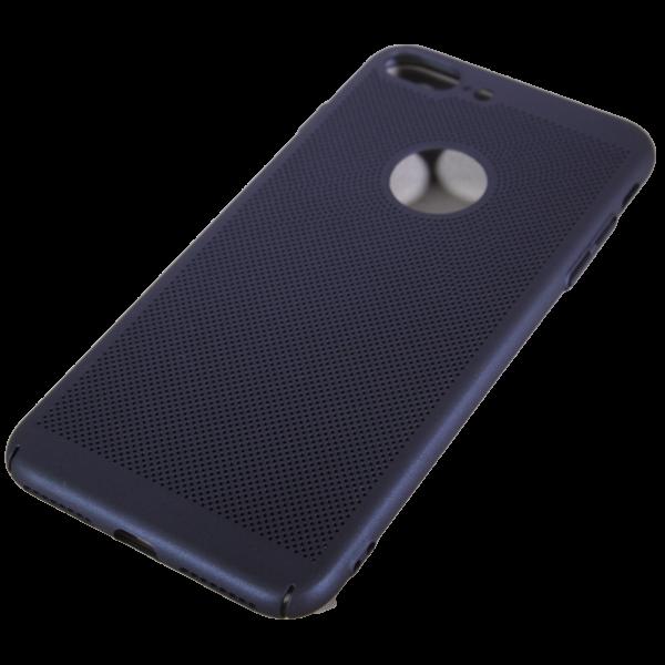 Husa iPhone 7 plus TPU Perforat Bleumarin 0