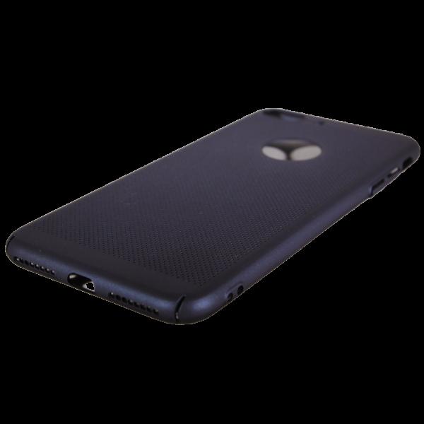 Husa iPhone 7 plus TPU Perforat Bleumarin 1