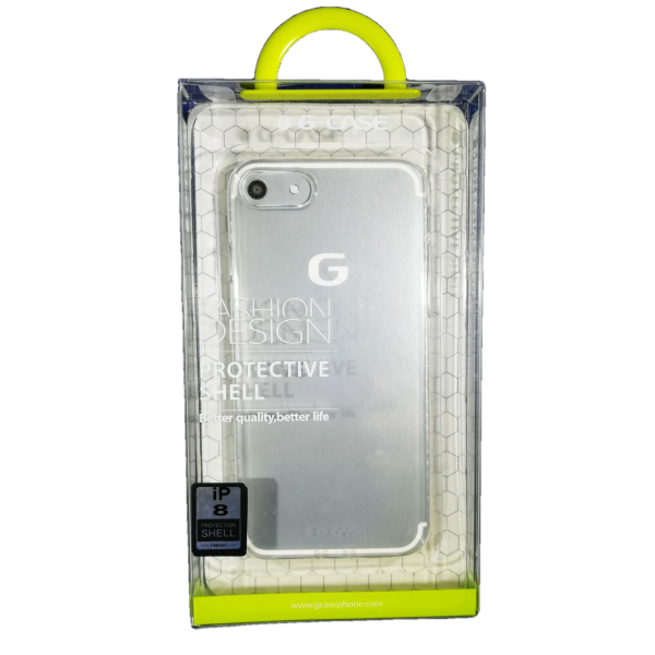 Husa iPhone 8 G-Case Silicon Transparent 1