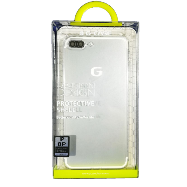 Husa iPhone 8 plus G-Case Silicon Transparent 2