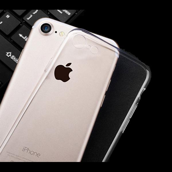 Husa iPhone 8 Silicon Transparent 2