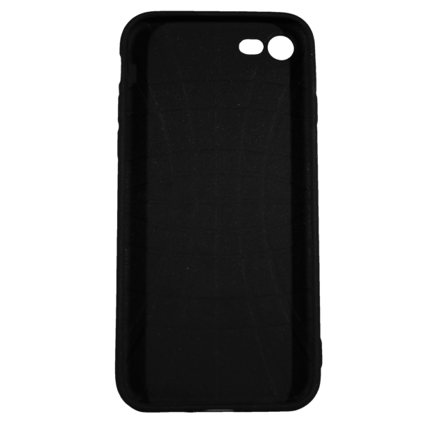 "Husa iPhone 8 TPU Negru Print Mesaj 3D ""18 acum pot sa fac legal ceea ce faceam la 13 ani "" 2"