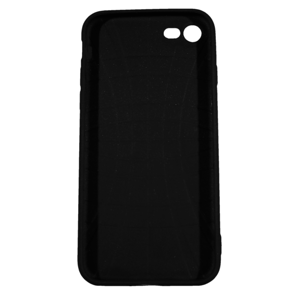 """Husa iPhone 8 TPU Negru Print Mesaj 3D """"Ai bani love story n-ai bani i'm sorry"""" 2"""