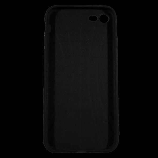 "Husa iPhone 8 TPU Negru Print Mesaj 3D ""Femeile nu gem, femeile dulceata"" 2"