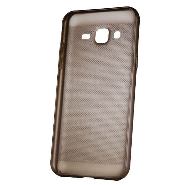 Husa Samsung Galaxy J3 2016 TPU Perforat Gold 1