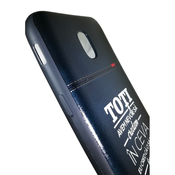 "Husa Samsung Galaxy  j5 2017 husa flippy 3d print mesaj ''toti avem nevoie sa credem in ceva!"" 1"