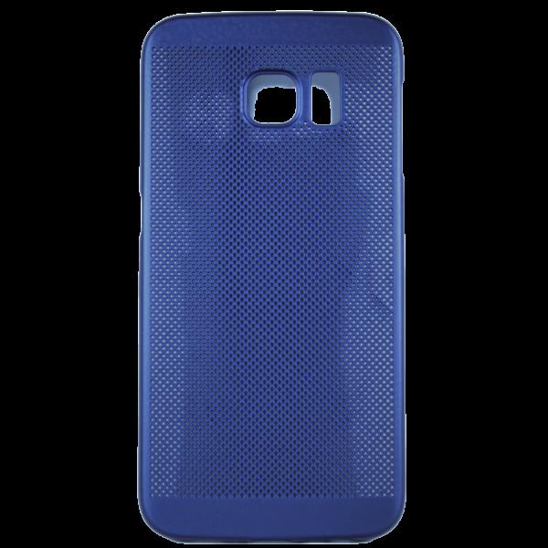 Husa Samsung Galaxy S6 EDGE TPU Perforat Bleumarin 0