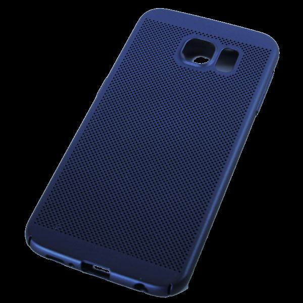 Husa Samsung Galaxy S6 TPU Perforat Bleumarin 1