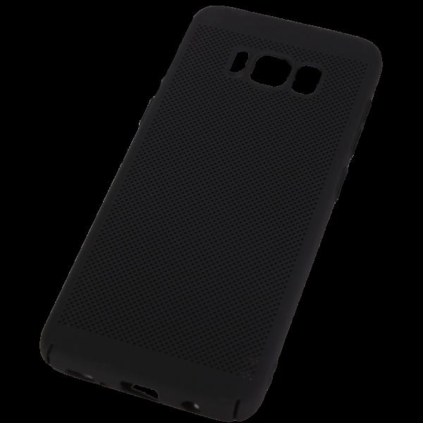 Husa Samsung Galaxy S8 TPU Perforat Negru 0