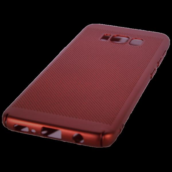 Husa Samsung Galaxy S8 TPU Perforat Rosu 0