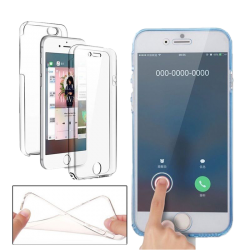 Husa 360 iPhone 7 plus 360 Silicon Transparent Fullcover2