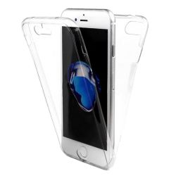 Husa 360 iPhone 7 plus 360 Silicon Transparent Fullcover0
