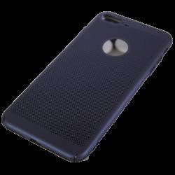Husa iPhone 7 plus TPU Perforat Bleumarin0