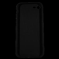 """Husa iPhone 7 TPU Negru Print Mesaj 3D """"Ai bani love story n-ai bani i'm sorry""""1"""