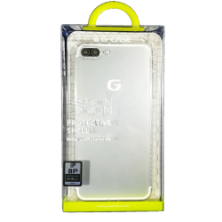 Husa iPhone 8 plus G-Case Silicon Transparent2