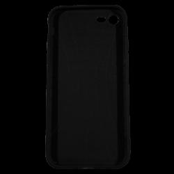 """Husa iPhone 8 TPU Negru Print Mesaj 3D """"Ai bani love story n-ai bani i'm sorry""""2"""