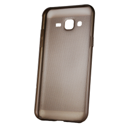 Husa Samsung Galaxy J3 2016 TPU Perforat Gold1