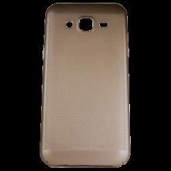 Husa Samsung Galaxy J3 2016 TPU Perforat Gold0
