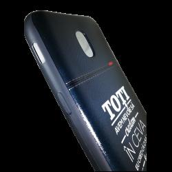 "Husa Samsung Galaxy  j5 2017 husa flippy 3d print mesaj ''toti avem nevoie sa credem in ceva!""1"
