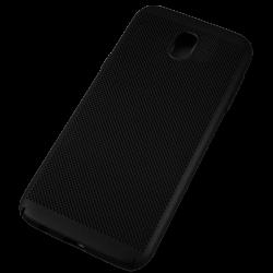 Husa Samsung Galaxy J5 2017 TPU Perforat Negru0