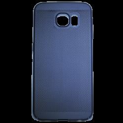 Husa Samsung Galaxy S6 TPU Perforat Bleumarin0