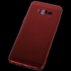 Husa Samsung Galaxy S8 TPU Perforat Rosu1