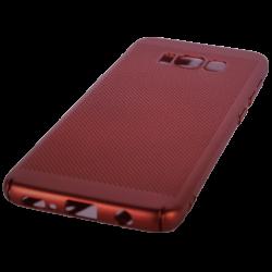 Husa Samsung Galaxy S8 TPU Perforat Rosu0