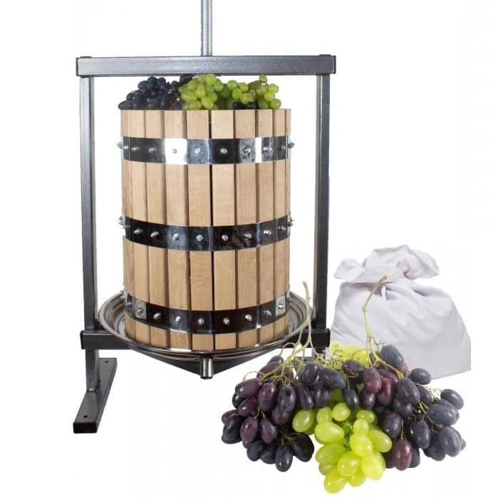 Zdrobitorul de struguri - un element important in realizarea vinului