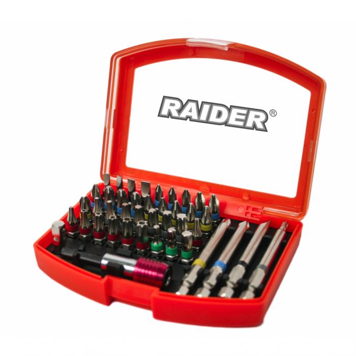 Set,trusa 42 biti si suport magnetic 1/4'' Raider 158902 [0]
