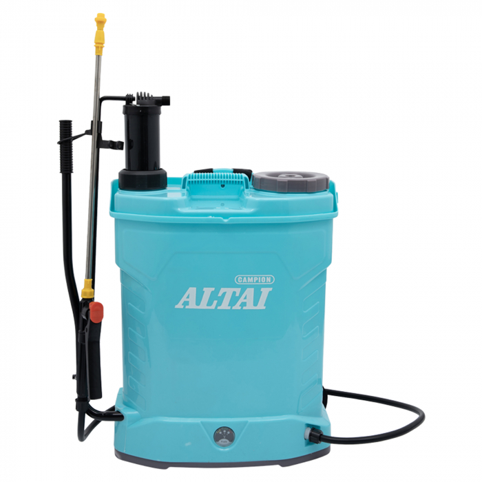 Pompe de stropit,vermorel 16L 2 in 1 ALTAI (electrica+manual) 5 bar, 12V, 8 Ah [0]
