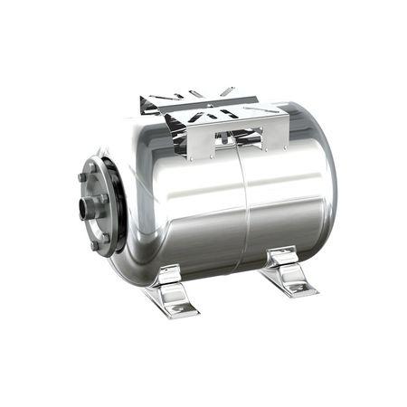 Vas de expansiune,hidrofor 24 litri, orizontal, inox 0