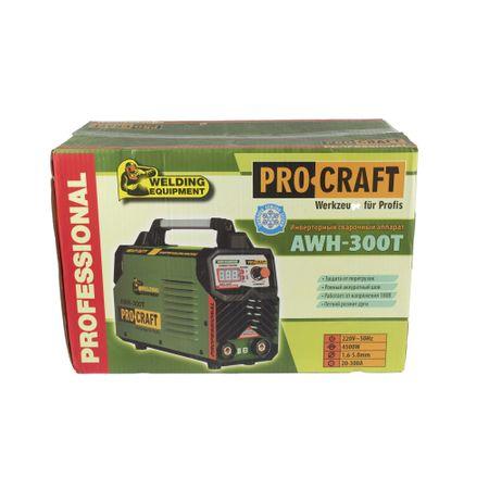 Invertor sudura MMA Procraft AWH-300T, 300A, Semi-Profesional, Diametru electrozi 1.6-4mm, Model 2020 2
