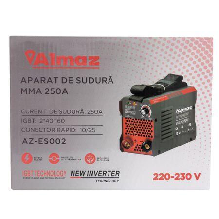 Aparat Sudura ALMAZ MMA 250A ( AZ-ES002 ) ,Invertor Model 2020 4