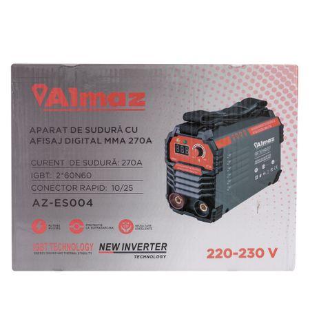 Aparat Sudura ,Invertor Digital ALMAZ 270A ( ES004 ) , Invertor Model 2020 4
