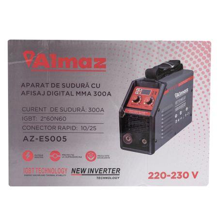 Aparat Sudura ALMAZ MMA 300A ( AZ-ES005 ) , Invertor Model 2020 [2]