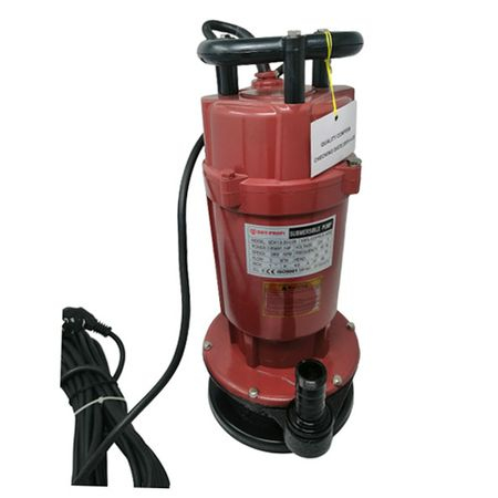 Pompa submersibila , QDX1.5-35-0.85, fonta, Rosu/Negru [0]