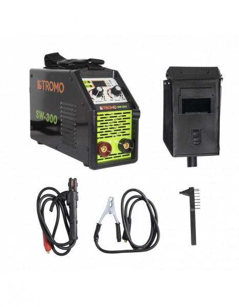 Aparat de sudura invertor STROMO SW300, 300 Ah, accesorii incluse, electrod 1.5-5mm 1