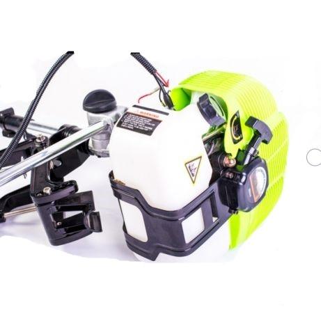Adaptor pentru motor motocositoare pentru barca,cu elice 2