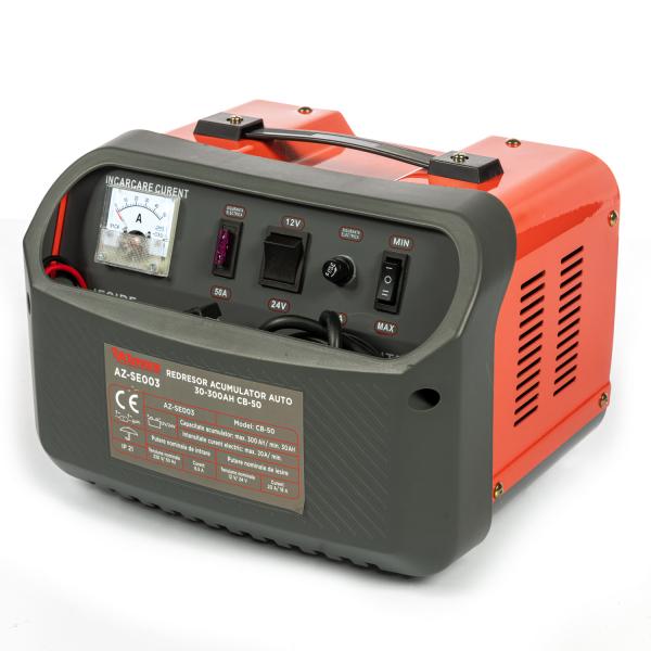Redresor incarcare acumulator auto 30-300Ah CB-50 ALMAZ AZ-SE003 [0]