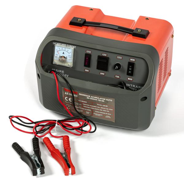 Redresor incarcare acumulator auto 30-300Ah CB-50 ALMAZ AZ-SE003 [1]