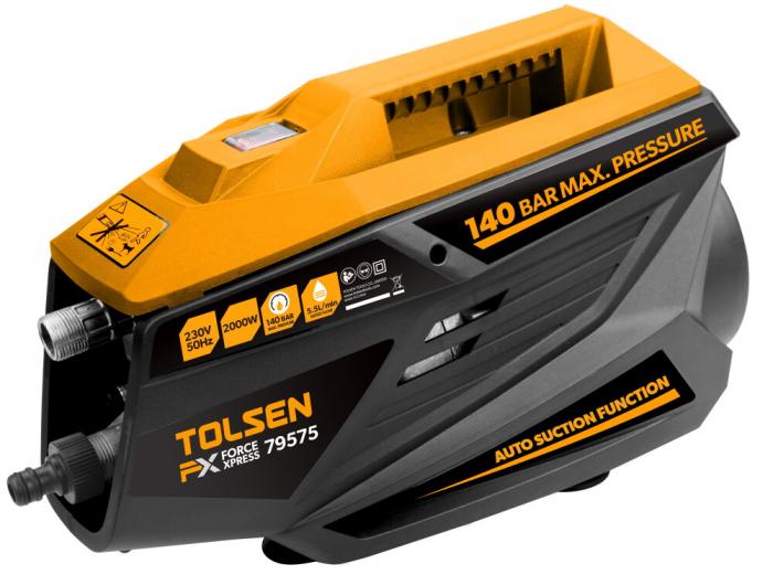 Aparat de spalat cu presiune, jet Tolsen 79575, 2000W, 140Bar, 220v, industrial [0]