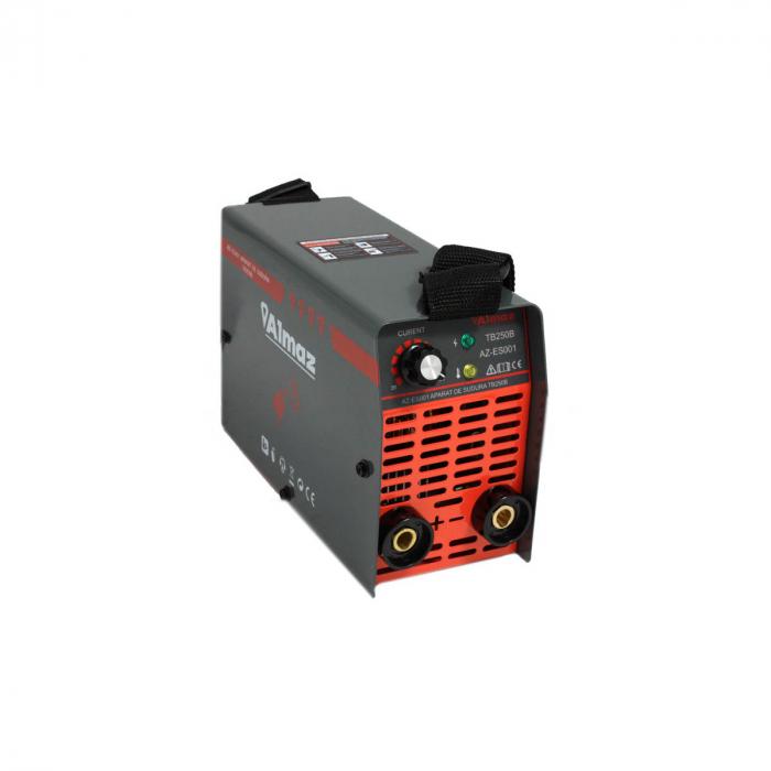 Aparat de sudura Invertor ALMAZ 250A, AZ-ES001, Electrod 1.6-4mm, accesorii incluse [6]