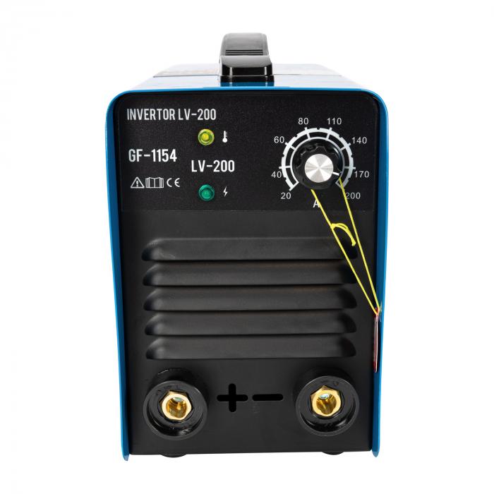 Aparat de sudura, Invertor Micul Fermier GF-1154, LV-200, 1.6-4 mm, 200Ah [3]