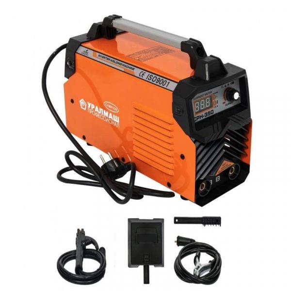Aparat de sudura / invertor CPH 350Ah portocaliu, UralMash Campion, cablu sudura 3 metri [0]