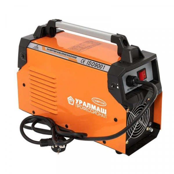 Aparat de sudura / invertor CPH 300Ah portocaliu, UralMash Campion, cablu sudura 3 metri [1]