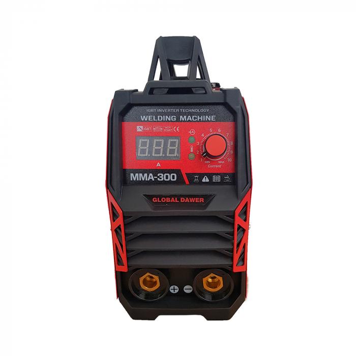 Aparat de Sudura tip Invertor, Dawer, MMA 300, Electrozi 1.6 - 5 mm, 300 A 4