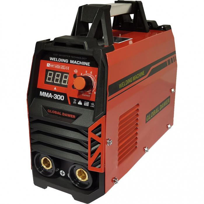 Aparat de Sudura tip Invertor, Dawer, MMA 300, Electrozi 1.6 - 5 mm, 300 A 0