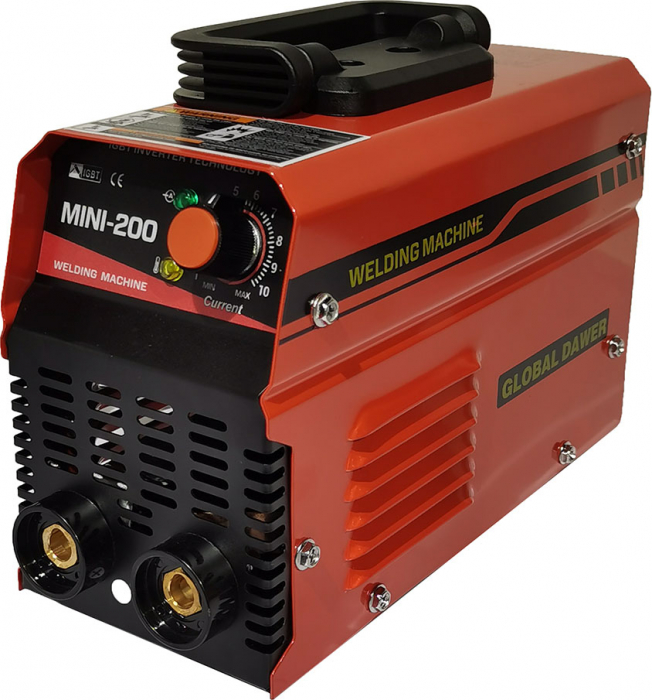 Aparat de Sudura tip Invertor, Global Dawer, Mini 200, 200 A, electrozi 1.6 mm - 4 mm [0]